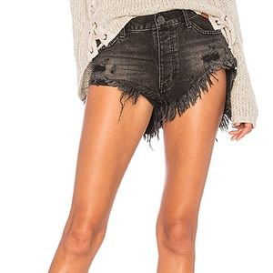 One teaspoon rollers shorts - Black